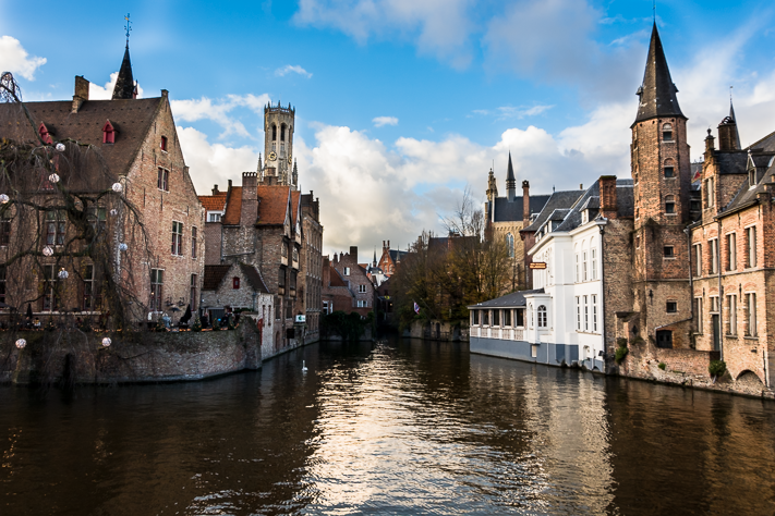 Brugge - The canals from my travels through Belgium, 2015