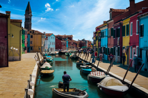 Beautiful Burano - the colorful buildings from my travels to Burano, Italy 2016