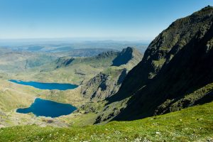 Snowdonia - a summers day landscape photo of the Snowdonia mountains, Wales 2016