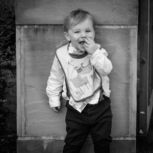 Teddy - The son of the happy couple during my first wedding. Sanctum on the Green, Maidenhead, England 2017