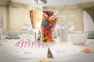 There's Love in the Details - a details shot of the center pieces at my first wedding. Sanctum on the Green, Maidenhead, England 2017