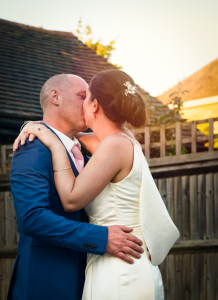 The First Dance - The happy couple during their first dance on their wedding day. Sanctum on the Green, Maidenhead, England 2017