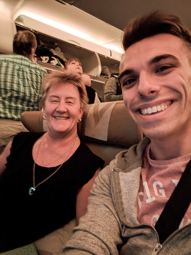 Me and Shirley from Perth, Australia. Jacob Everitt Photography Travel Blog