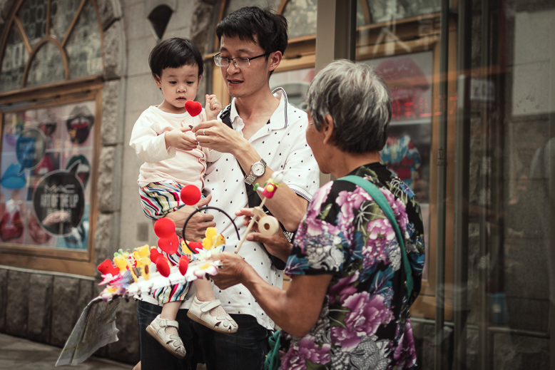 Xian street photography