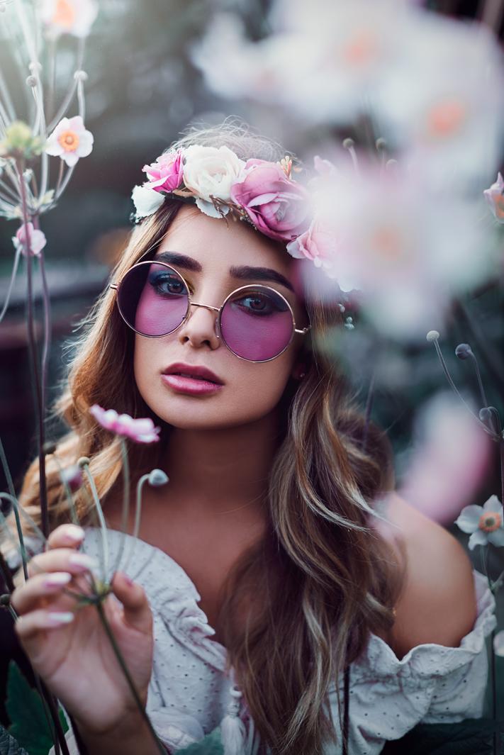2019 england nature flowers pink hippie fine art portrait jacob everitt photography-3