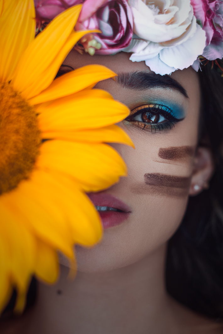 2019 england nature fine art sunflower portrait jacob everitt photography