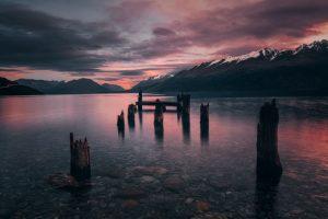 2018 Glenorchy new zealand sunset mountains landscape jacob everitt photography-4