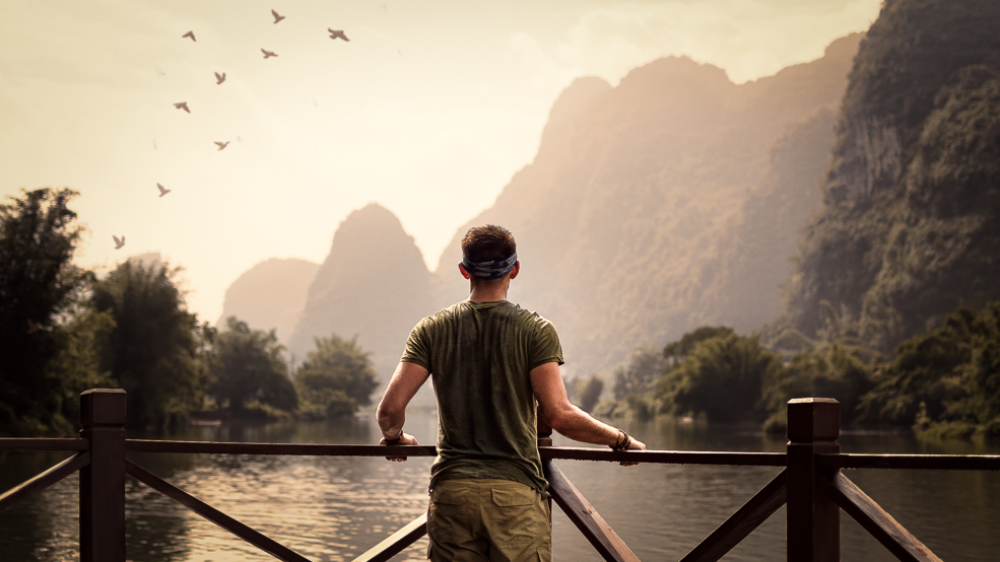 the yangshuo mountains, china 2017. travel photography
